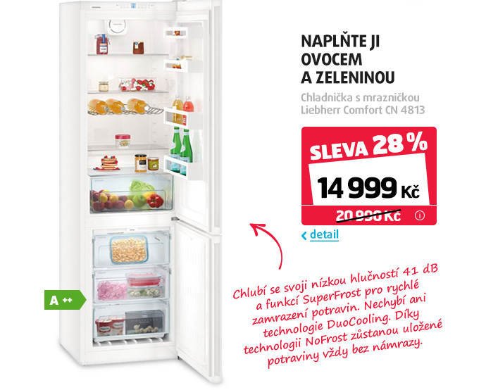 Chladnička s mrazničkou Liebherr Comfort CN 4813