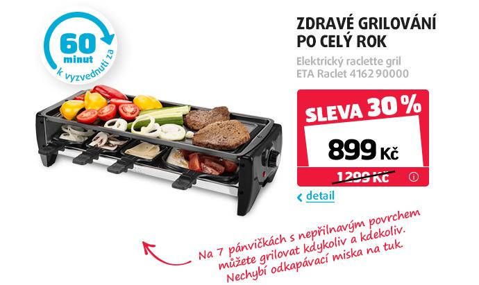 Elektrický raclette gril ETA Raclet 4162 90000