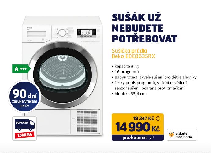 Sušička prádla Beko EDE8635RX