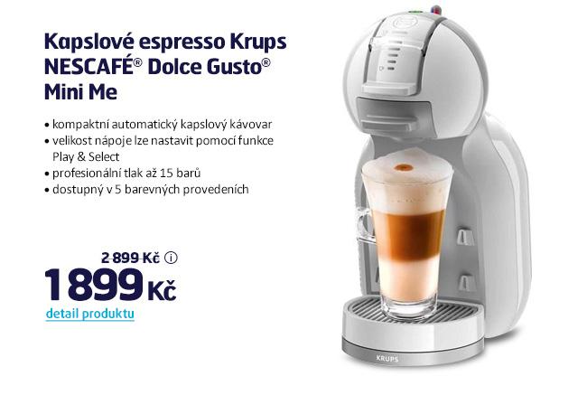 Kapslové espresso Krups NESCAFÉ Dolce Gusto Mini Me