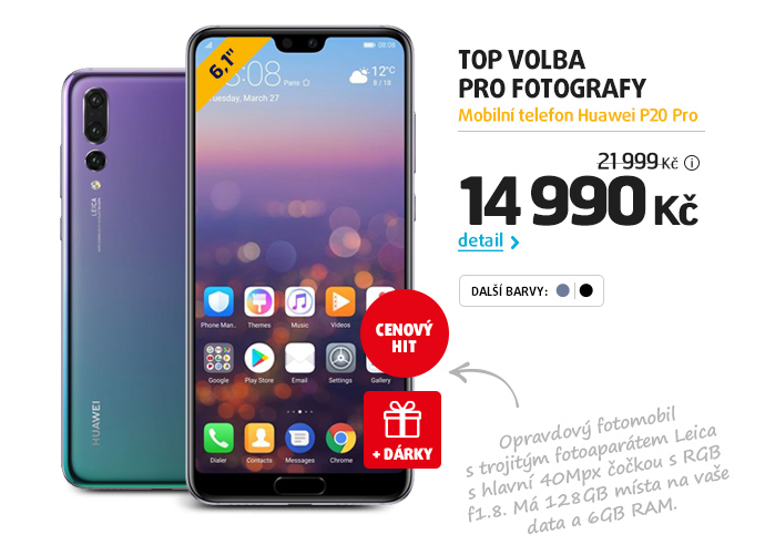 Mobilní telefon Huawei P20 Pro