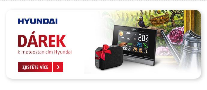 meteostanice Hyundai + dárek přenosné repro
