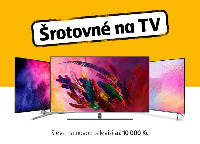 ŠROTOVNÉ NA TV