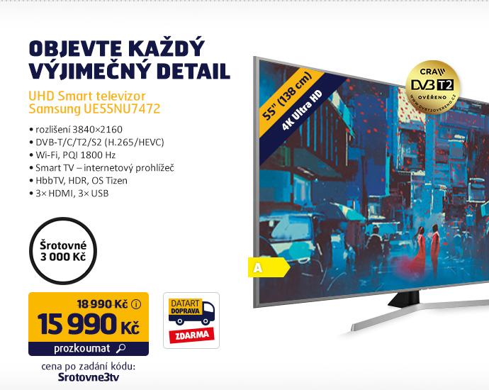 UHD Smart televizor Samsung UE55NU7472