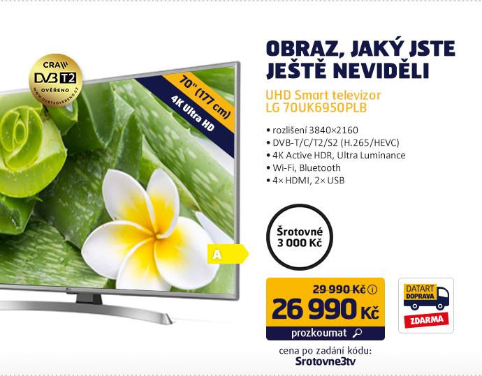 UHD Smart televizor LG 70UK6950PLB