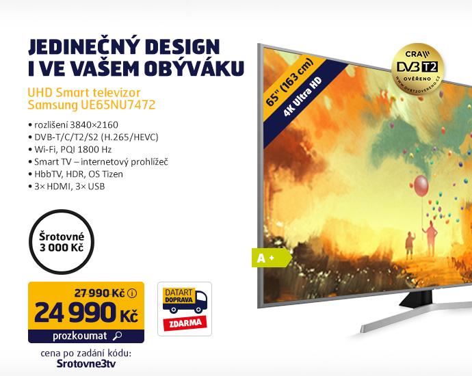 UHD Smart televizor Samsung UE65NU7472