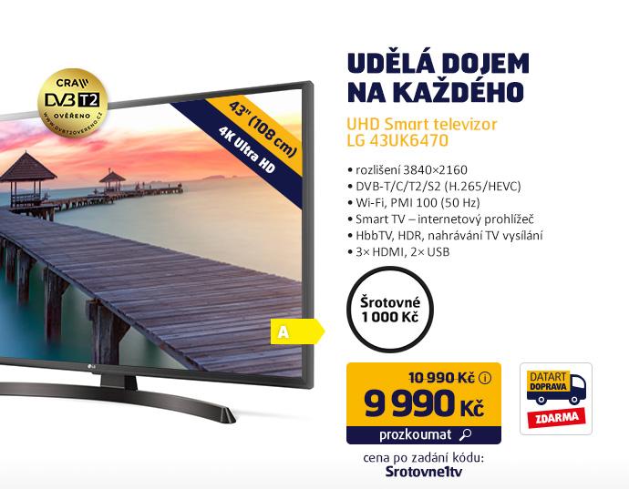UHD Smart televizor LG 43UK6470