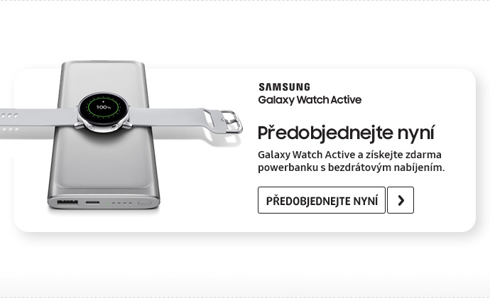 Chytré hodinky Galaxy Watch Active