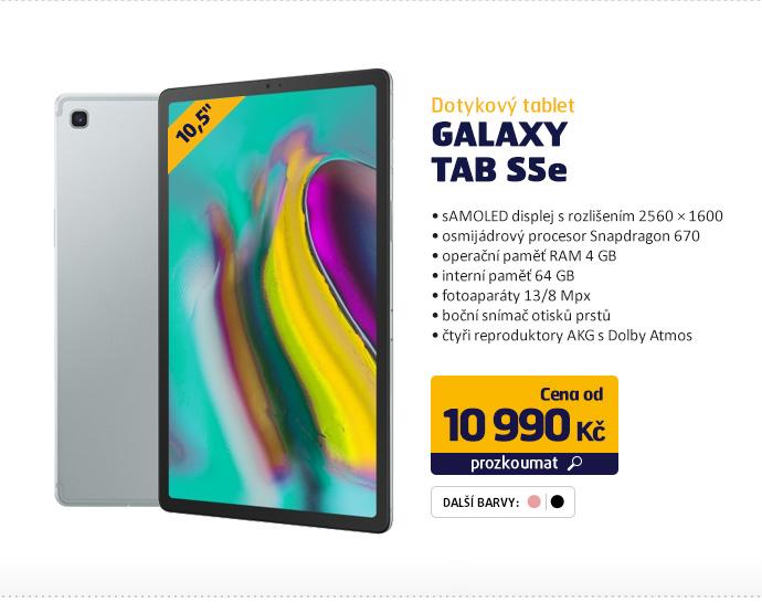 Dotykový tablet Galaxy Tab S5e