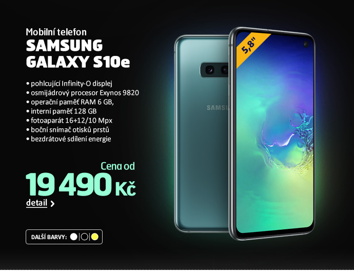 Mobilní telefon Samsung Galaxy S10e
