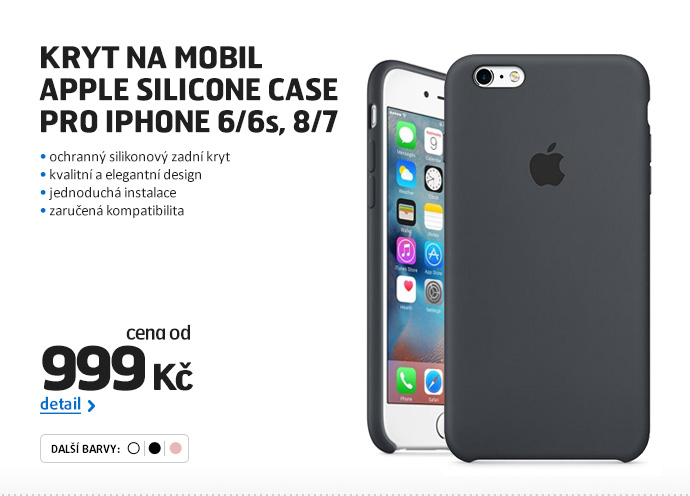 Kryt na mobil Apple Silicone Case pro iPhone 6/6s, 8/7