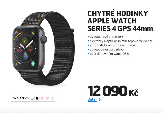 Chytré hodinky Apple Watch Series 4 GPS 44mm