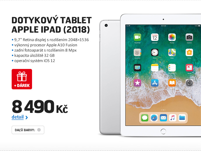 Dotykový tablet Apple iPad (2018)