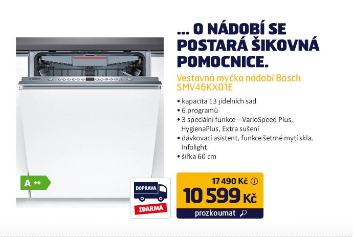 Vestavná myčka nádobí Bosch SMV46KX01E