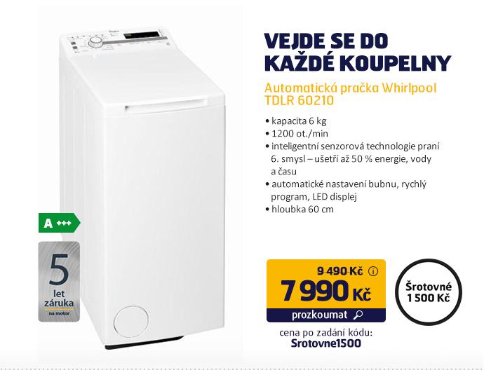 Automatická pračka Whirlpool TDLR 60210
