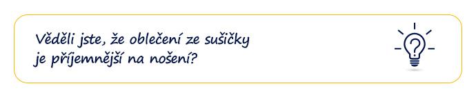 Věděli jste, že oblečení ze sušičky je příjemnější na nošení?