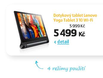 Dotykový tablet Lenovo Yoga Tablet 3 10 Wi-Fi