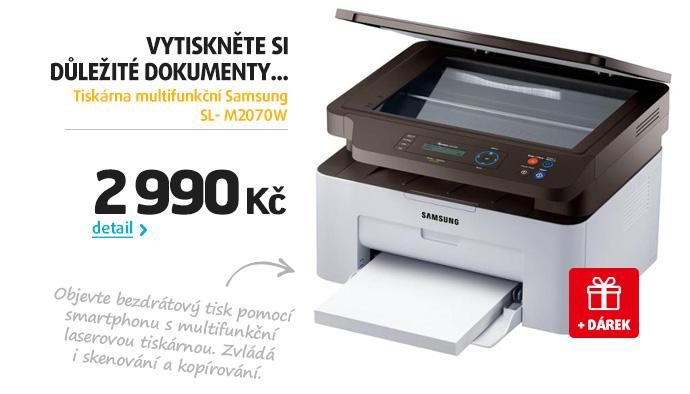 Tiskárna multifunkční Samsung SL- M2070W