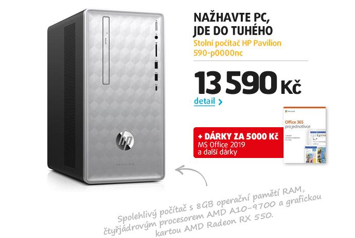 Stolní počítač HP Pavilion 590-p0000nc