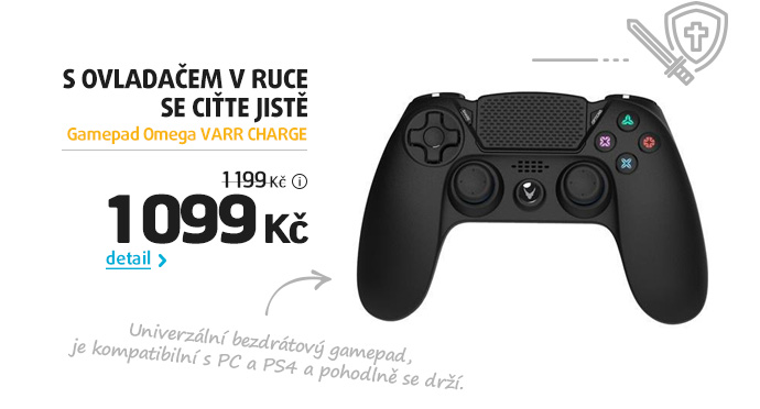 Gamepad Omega VARR CHARGE