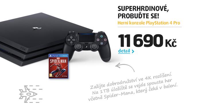 Herní konzole PlayStation 4 Pro