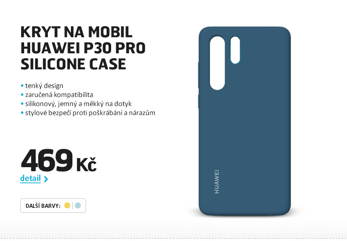 Kryt na mobil Huawei P30 Pro Silicone Case