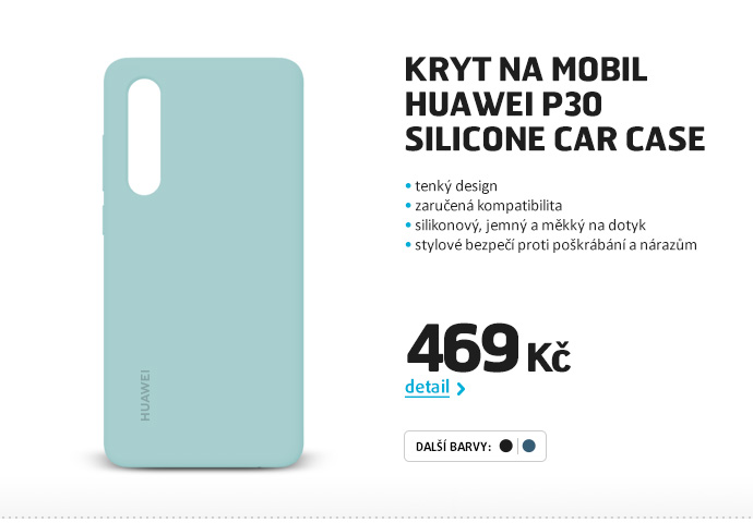 Kryt na mobil Huawei P30 Silicone Car Case
