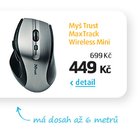 Myš Trust MaxTrack Wireless Mini