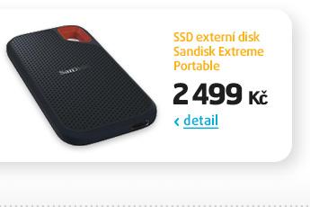 SSD externí disk Sandisk Extreme Portable