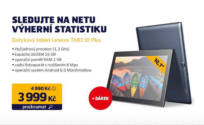 Dotykový tablet Lenovo TAB3 10 Plus