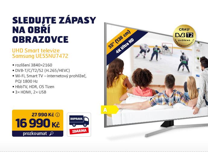 UHD Smart televize Samsung UE55NU7472