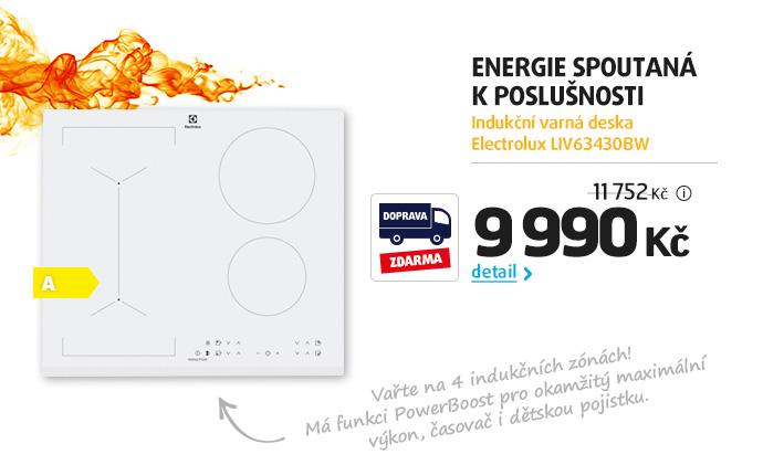 Indukční varná deska Electrolux LIV63430BW