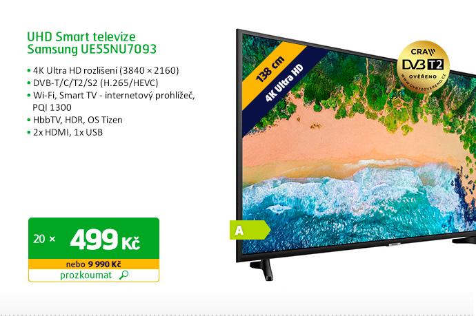 UHD Smart televize Samsung UE55NU7093