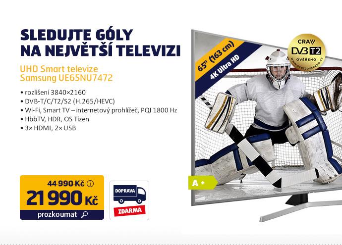UHD Smart televize Samsung UE65NU7472
