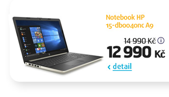 Notebook HP 15-db0040nc A9