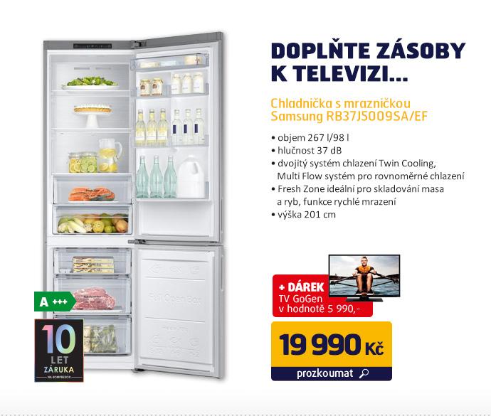 Chladnička s mrazničkou Samsung RB37J5009SA/EF
