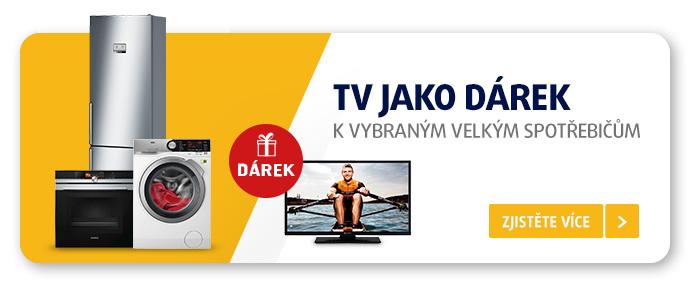 TV jako dárek k vybraným velkým spotřebičům