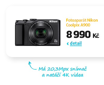 Fotoaparát Nikon Coolpix A900