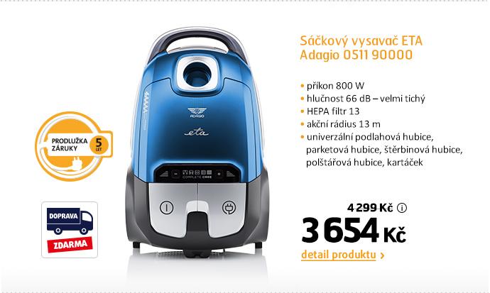 Sáčkový vysavač ETA Adagio 0511 90000