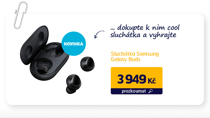 Sluchátka Samsung Galaxy Buds