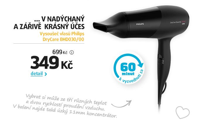 Vysoušeč vlasů Philips DryCare BHD030/00