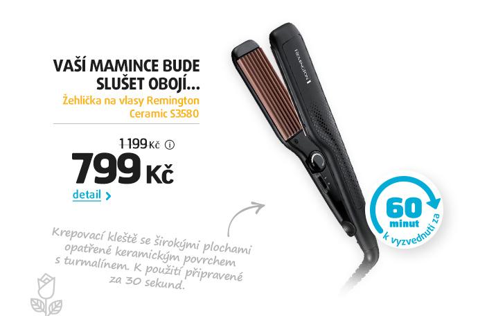 Žehlička na vlasy Remington Ceramic S3580
