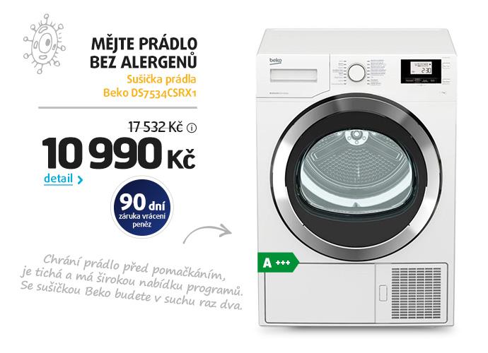 Sušička prádla Beko DS7534CSRX1