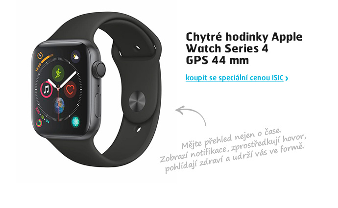 Chytré hodinky Apple Watch Series 4 GPS 44 mm