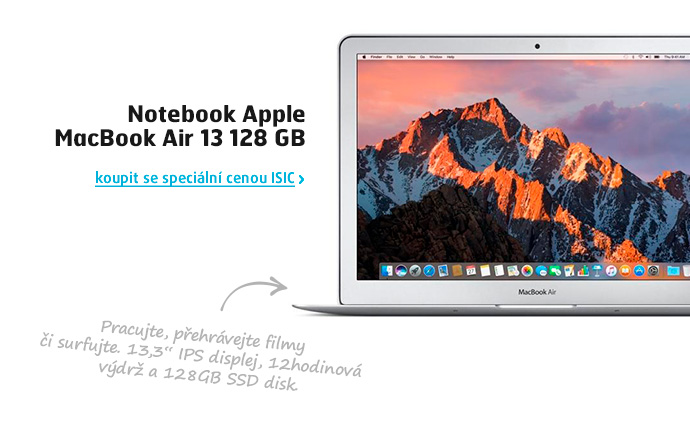Notebook Apple MacBook Air 13 128 GB