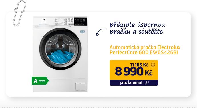 Automatická pračka Electrolux PerfectCare 600 EW6S426BI