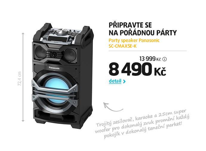 Party reproduktor Panasonic SC-CMAX5E-K