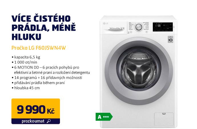 Pračka LG F60J5WN4W