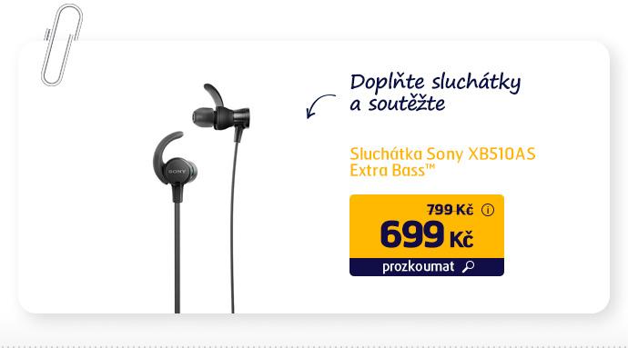 Sluchátka Sony XB510AS Extra Bass™