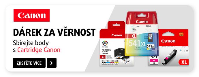 Canon – odměny při nákupu originálních cartridge